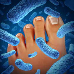 Fighting fungus and athlete's foot