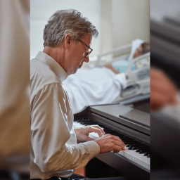 The powerful effect of bedside music as medicine