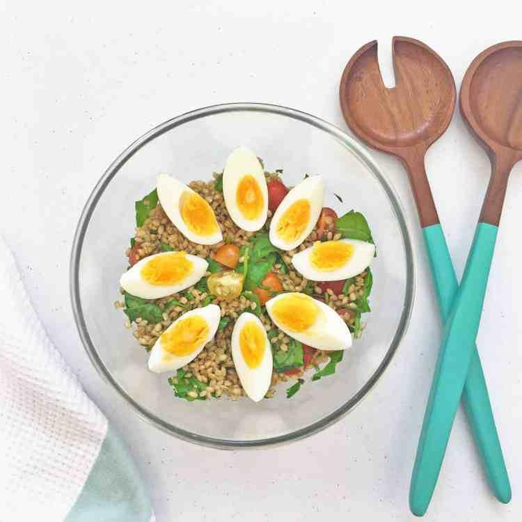 Pearl barley salad 7.1