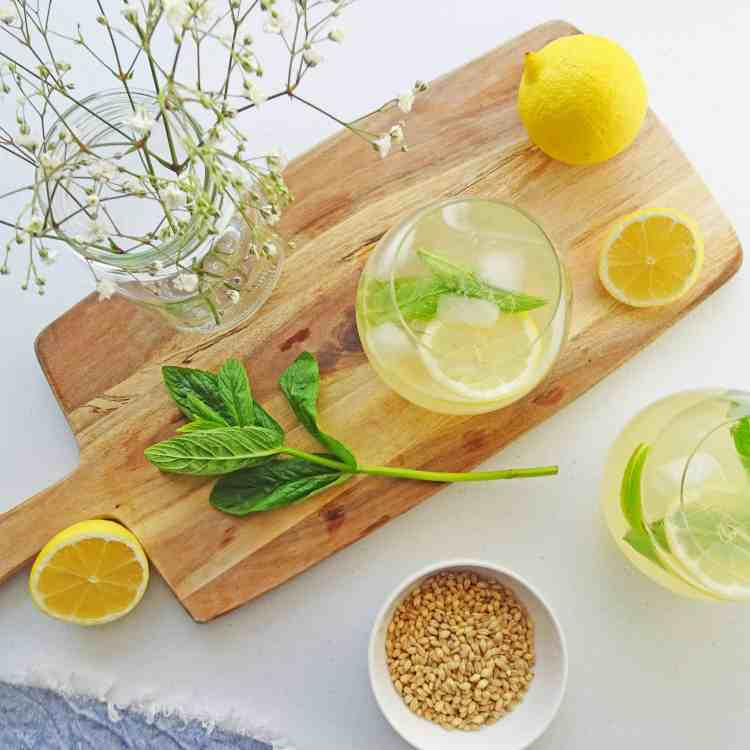 Lemon Barley water 4