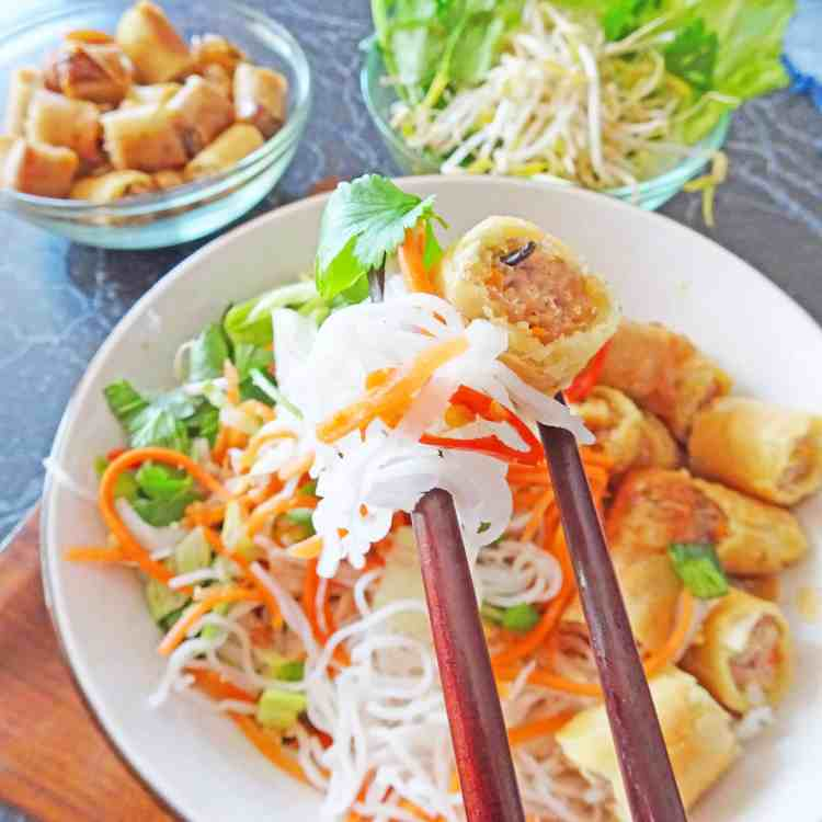 Spring Roll Noodles in Nuoc Mam 2.1