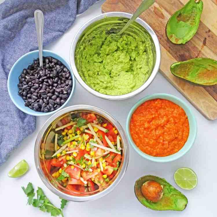 Vegetarian Burritos 700.1
