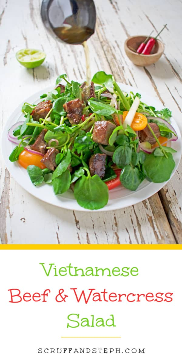 Vietnamese Beef and Watercress Salad
