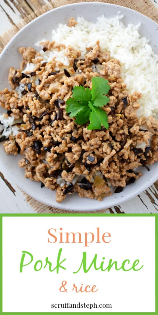 Simple Pork Mince and Rice