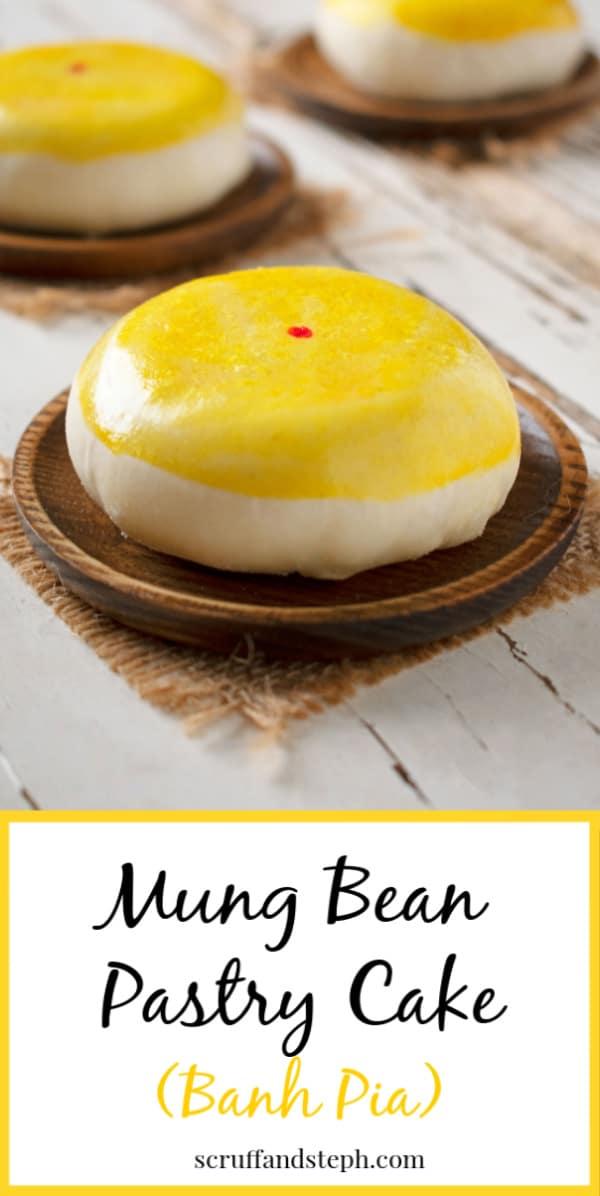 Mung Bean Pastry Cake - Banh Pia