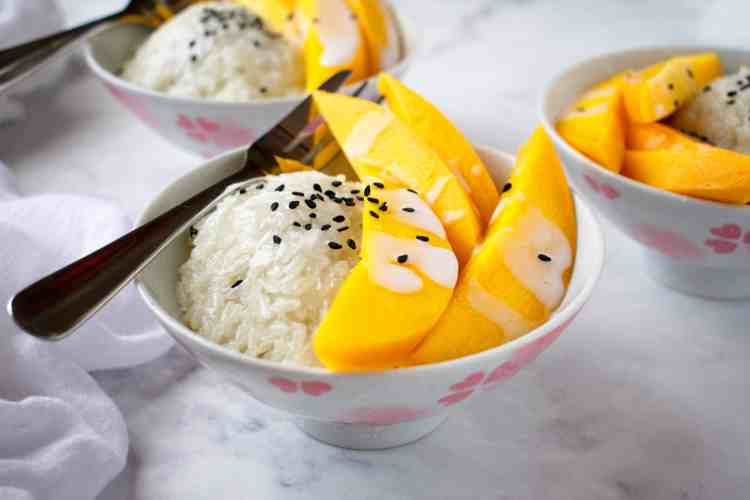 Mango Sticky Rice Quick Version Scruff Steph