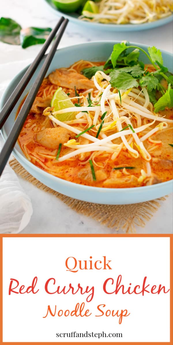 Quick Red Curry Chicken Curry