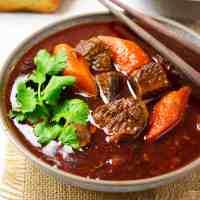 Bo Kho - Vietnamese Beef Stew (Stovetop & Instant Pot)