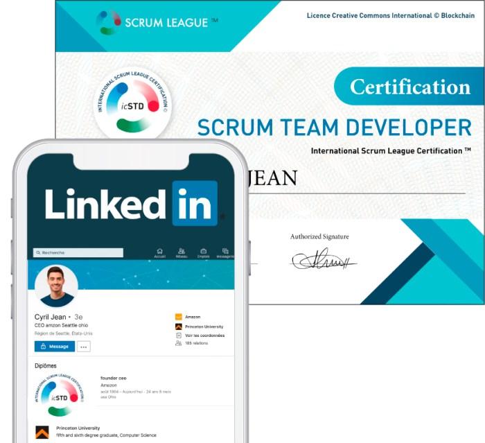 Certification Scrum Developer