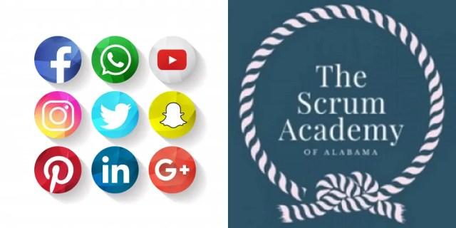 ScrumAA Social Media