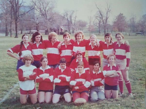 Wisconsin Women's Rugby 1976