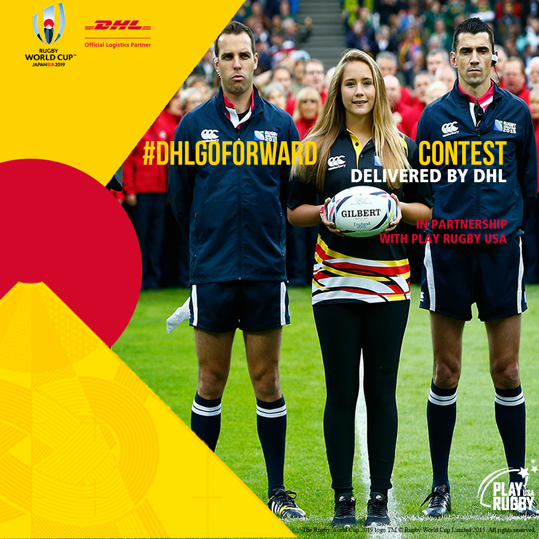 DHL Sending One Lucky Child to Deliver Official Match Ball at Rugby World Cup 2019 in Japan