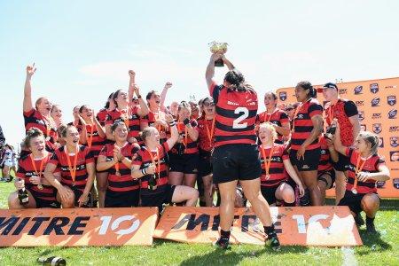 Canterbury claims third Farah Palmer Cup title