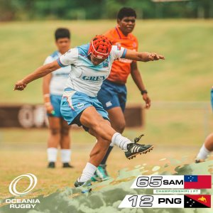 Samoa over PNG - 2019 Oceania Rugby Championships