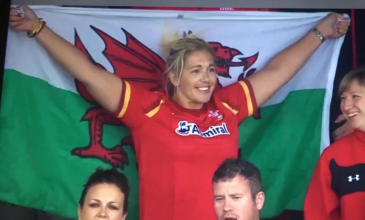 Wales' Gemma Hallett