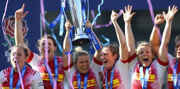 Harlequins win the 2021 Allianz Premier 15s