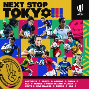 Women's Rugby Teams - 2020 Tokyo Olympics