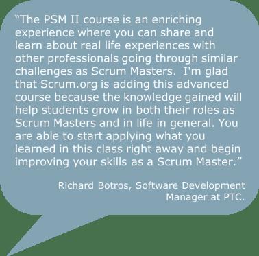 PSM II Quote