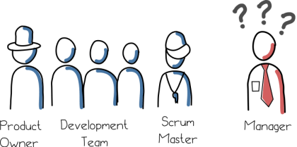 Where is the manager role in scrum?