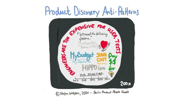 Product Discovery Anti-Patterns Leading to Failure — Berlin Product People GmbH