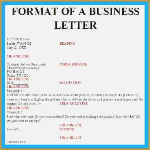 Format Designpropoxample Sample