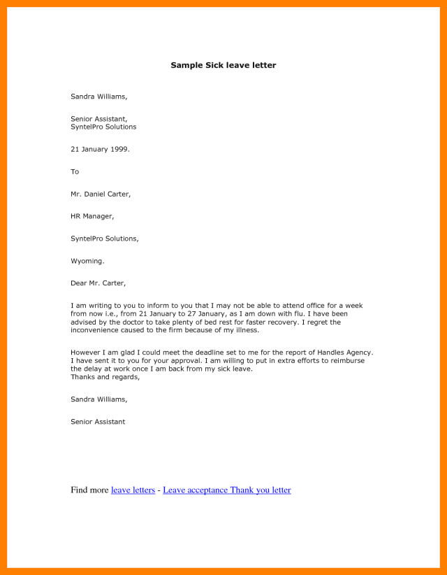 Maternity Leave Confirmation Letter