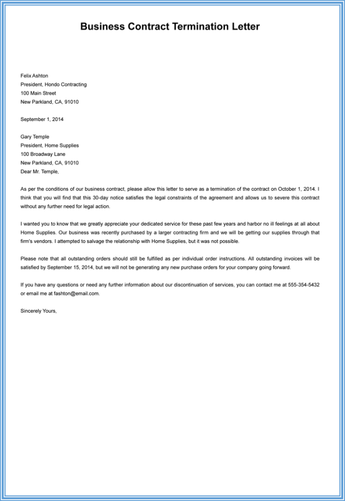 sample termination letter for cause scrumps