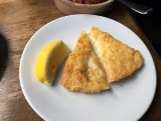 saganaki - toasted greek cheese.
