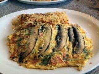 Italian Connection omelette - Gee Whiz Diner, New York.