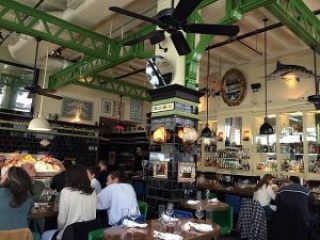 John Dory restaurant, Manhattan, NYC.