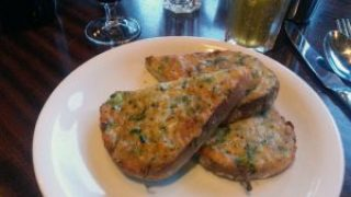 Chilli cheese toast - Dishoom, Edinburgh.
