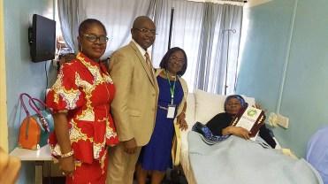 L-R: Professors Ifeoma Emodi, Adekunle Adekile, Angela Okolo and Winifred Kaine
