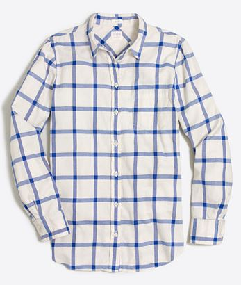 FLANNEL SHIRT IN BOY FIT