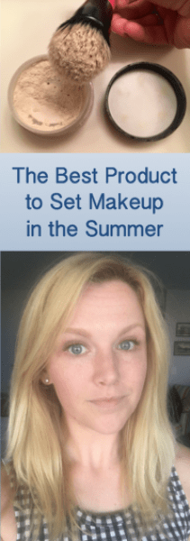 The Best Beauty Product for Setting Makeup in the Summertime