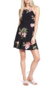Lush Ava Skater Dress