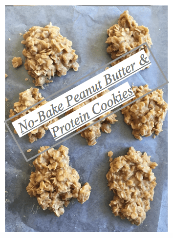 No-Bake Peanut Butter & Protein Oatmeal Cookies Recipe - SCsScoop.com