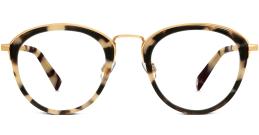 Mona Tortoise Eyeglasses