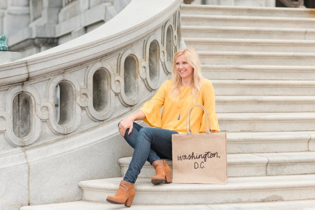 The Little Market's New D.C. Tote & 12 Ruffled Tops for the Holidays - SCsScoop.com