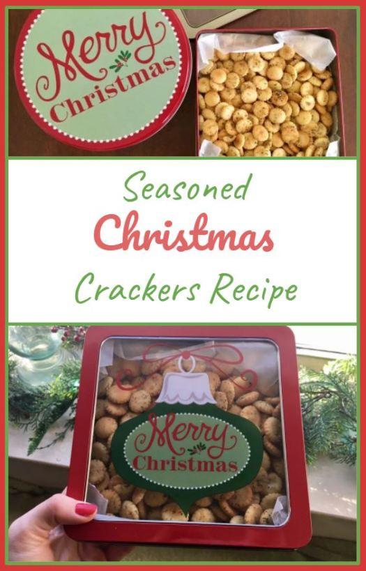 Seasoned Christmas Crackers Recipe - Sarah Camille's Scoop