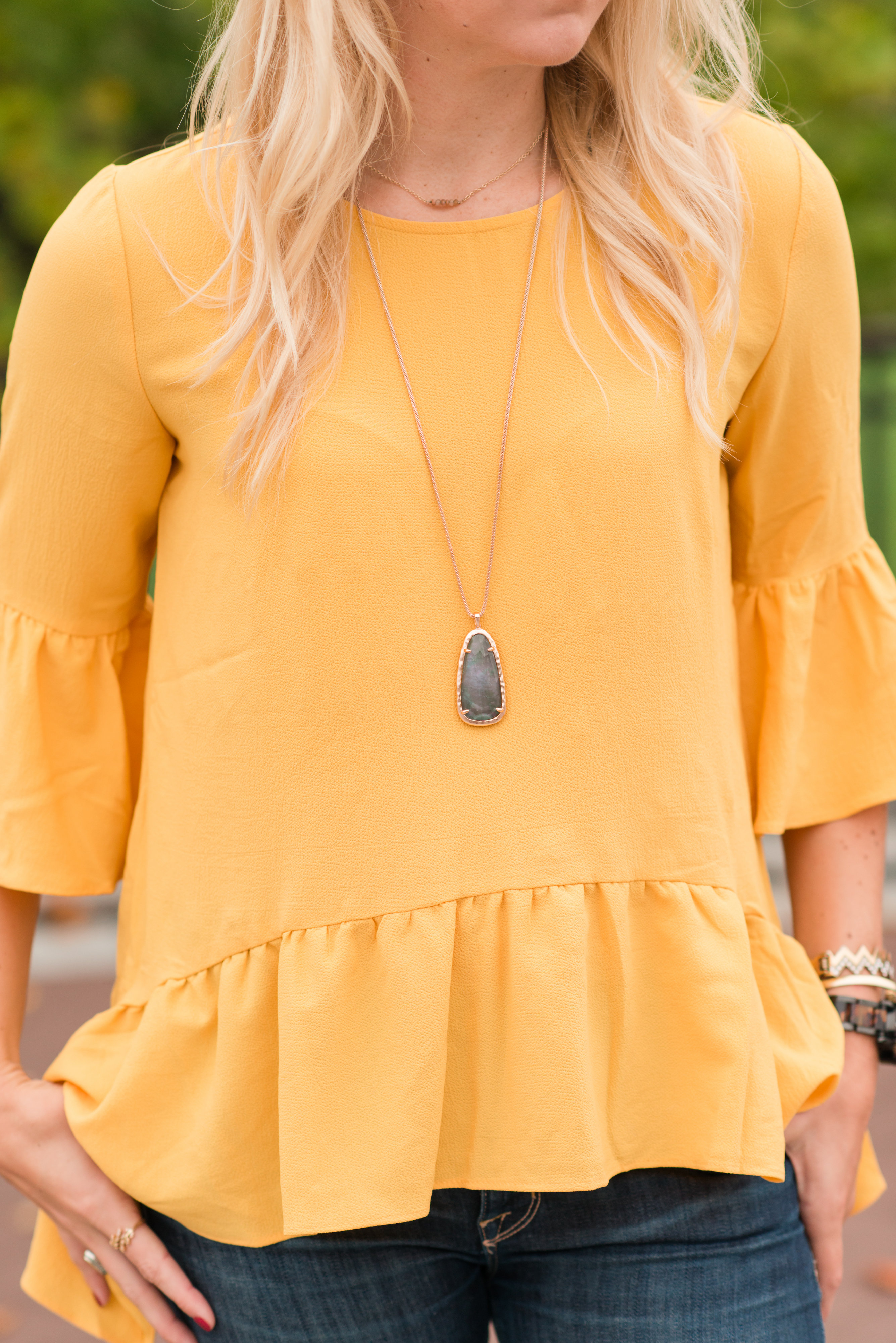 Kendra Scott Necklace Best Fashion Purchases of the Year - Sarah Camille's Scoop - SCsScoop.com