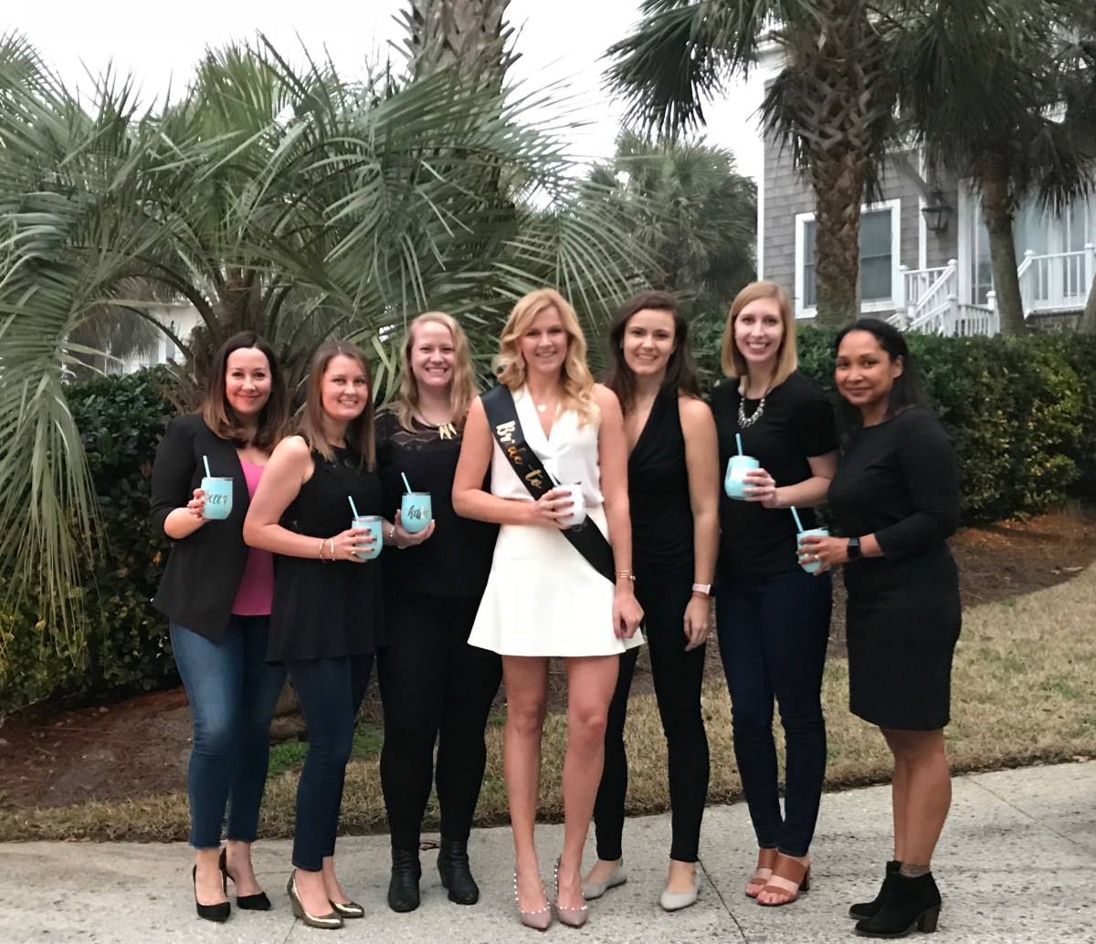Bachelorette Party Outfit & Ladies Weekend in South Carolina SCsScoop.com