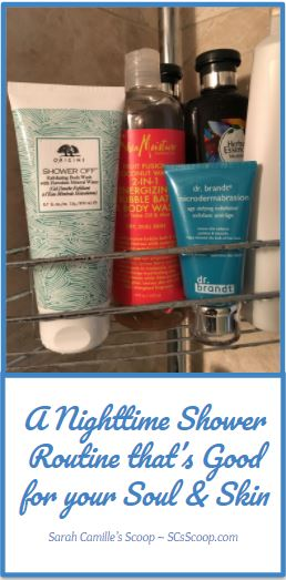 A Nighttime Shower Routine That's Good for your Soul & Skin - SCsScoop.com