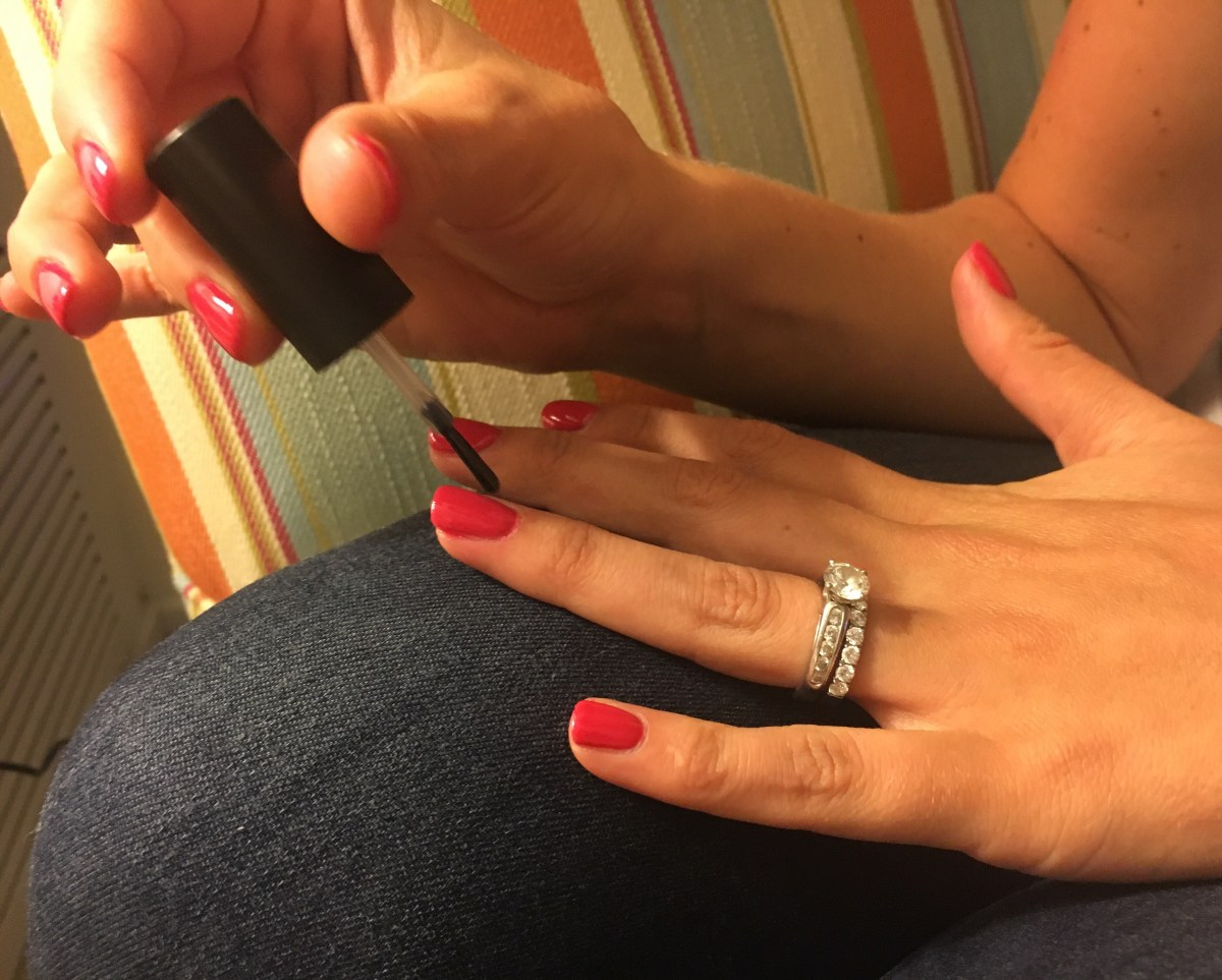 Nailing a Gel Manicure at Home with Pink Gellac