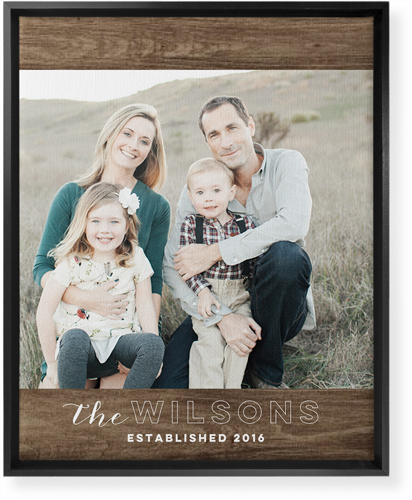shutterfly canvas print - affordable housewarming gift idea - SCsScoop.com
