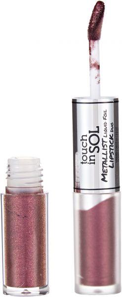 TOUCH IN SOL Metallist Liquid Foil Lipstick Duo - FabFitFun Fall Box Review - SCsScoop.com