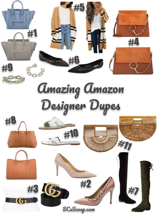 Amazing Amazon Designer Dupes