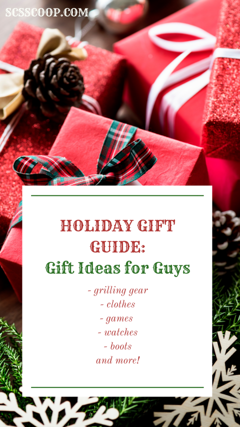 Holiday Gift Guide: Gift Ideas for Guys - SCsScoop.com Gift Ideas - Gifts for Husbands and Boyfriends