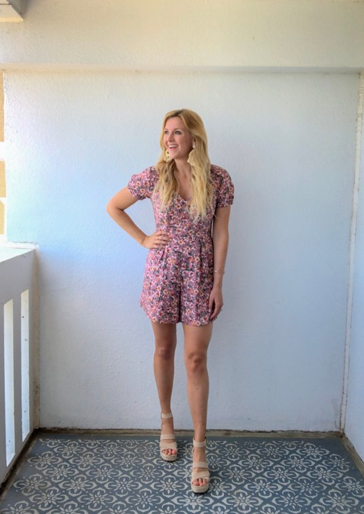A Style Tip + 7 Floral Rompers for less than $50 - Floral Romper Trend - Summer Style Inspiration - SCsScoop.com