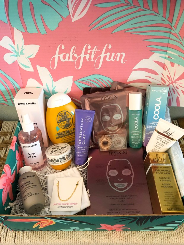 What's Inside the FabFitFun Summer 2019 Box + 20% Off Coupon Code - SCsScoop.com