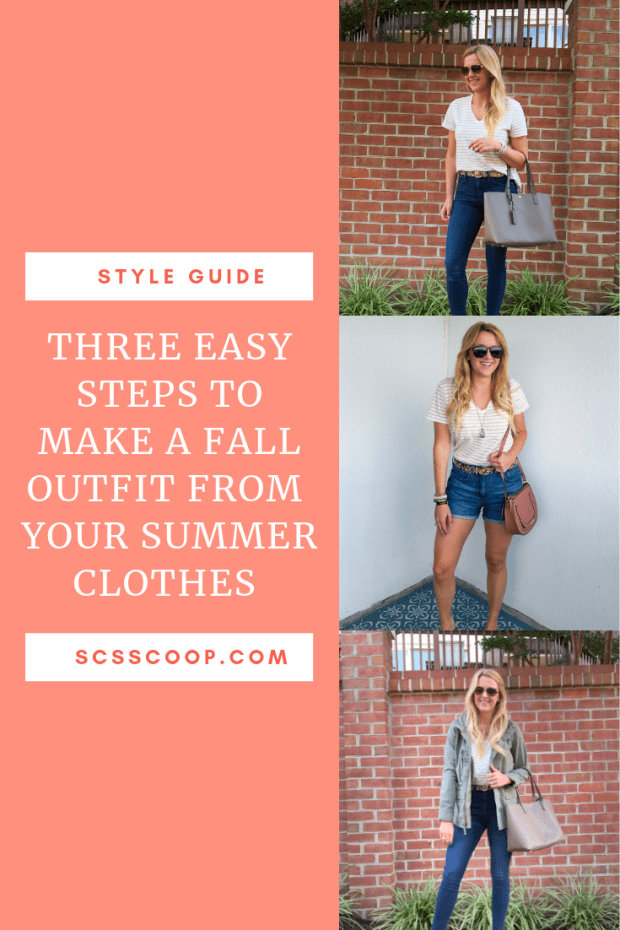 Three Steps to Create Fall Outfits with your Summer Clothes - SCsScoop.com